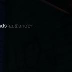 """Glass Sands – """"Auslander"""""""